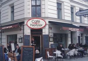 """Das """"Café Netzer"""" in der Günterstraße 10"""